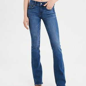American Eagle AE Stretch Kick Boot Jeans 8